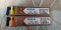 XGIGA 1 SFP Pair, 80KM, CISCO/Juniper Compatible, 1490/1550nm, single mode