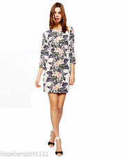 Synthetic Tunic Vintage Dresses for Women