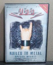 U.D.O. - Nailed to Metal: The Missing Tracks     (DVD + CD)      LIKE NEW
