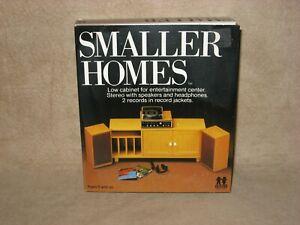 Tomy Smaller Homes Dollhouse Entertainment Center Set Home Garden Doll House