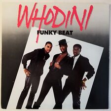 1986 - WHODINI - FUNKY BEAT / WHODINI MEGAMIX - JIVE RECORDS ORIGINAL PROMO