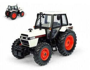 Case 1494 4wd Blanc / Black Version Tracteur Tractor 1:3 2 Model 6208
