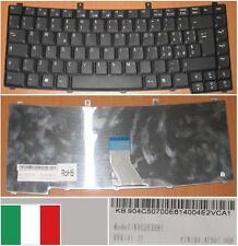 TASTIERA QWERTY ITALIANA ACER TM2300 2300 4400 4500 90.4C507.00E K052030B1 Nero