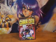Cyber City - Final Collection Complete - BRAND NEW - DVD Anime - U.S. Manga 2005