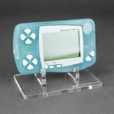 Display stand for Bandai Wonderswan console -Crystal Clear | Rose Colored Gaming