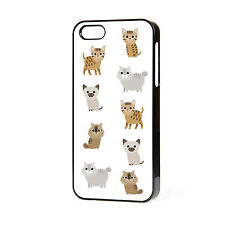 Nuevo Diseño Hermoso Lindos Gatitos Arte Iphone teléfono caso Libre P&P