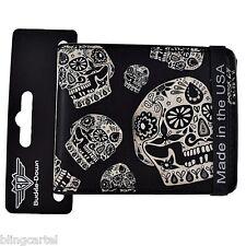 Sugar Skulls Dia De Los Muertos Cartera Skull Wallet Day Of The Dead Buckle Down