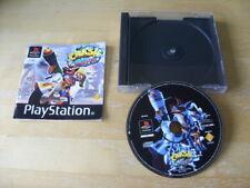 Crash Bandicoot 3 : Warped (Sony PlayStation 1, 1998) - NO FRONT INLAY