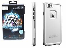 Lifeproof FRE Waterproof Case Dust Hard for iPhone 6 6S White Grey Brand NEW