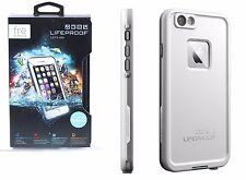 Lifeproof FRE Waterproof Case Dust Hard for Apple iPhone 6 6S White Grey NEW OEM