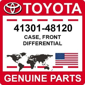 41301-48120 Toyota OEM Genuine CASE, FRONT DIFFERENTIAL