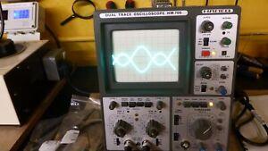Hameg HM 705 70 Mhz oscilloscope