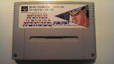 World Heroes SHVC-WZ Super Famicom Cart SFC SNES Nintendo