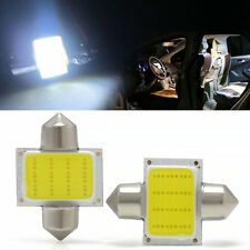2pcs/set 12smd COB LED White Bulbs For Car Interior Dome Map Lights DE3175