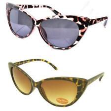Gafas de sol de mujer marrón de plástico, de 100% UV400