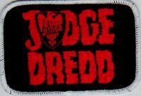 JUDGE DREDD sew on vintage embroidered patch