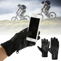 Outdoor Sports Cycling Climbing Windproof Full Finger Touch Screen Gloves Hot