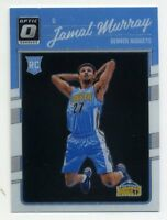 2016-17 Donruss Optic JAMAL MURRAY Rookie Card RC #157 Denver Nuggets New Chrome