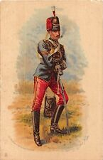 POSTCARD  MILITARY   Prince  Albert's  Own  Hussars      Tuck