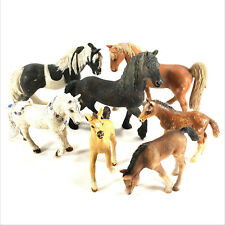 Lot Schleich Safari Horse 1997 Foal 2001 D-73527 2003 D-73527 2007 2008 2009 Vtg