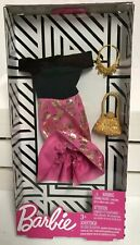 Barbie Fashion Clothing And Accessories Dress New Free Ship