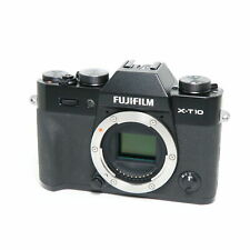 Fujifilm Fuji X-T10 16.3MP Mirrorless Digital Camera Body (Black)