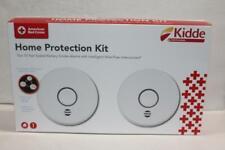 Kidde 10 Year Home Protection Kit Two Smoke Alarms Model P4010DCS-W