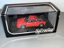 RALLY 1/43 RARE HPI LANCIA RALLYE 037 ROAD CAR MARTINI RED VERSION WRC ERC RARE