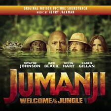 HENRY JACKMAN - JUMANJI: WILLKOMMEN IM DSCHUNGEL/OST   CD NEW+ JACKMAN,HENRY