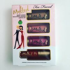 Too Faced Melted  Merry Kissmas NEW IN BOX Deluxe Sample Sizes