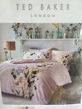 Ted Baker ELEGANT Double Duvet Cover and 2 Pillowcases New in packaging