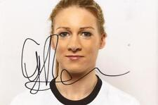 ENGLAND & LIVERPOOL LADIES: GEMMA BONNER SIGNED 6x4 PORTRAIT PHOTO+COA