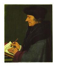 Hans Holbein Erasmus von Rotterdam klein Poster Kunstdruck Bild 41x34cm