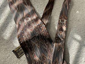 Vintage Tootal Kipper Tie Silk Art nouveau Morris Design