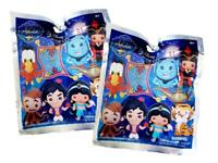 Disney ALADDIN Figural Bag Clip Series 21 Lot of 2 Blind Bags NEW SEALED