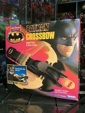 Vintage Batman Crossbow Toy, The Dark Knight Collection, Kenner 1990, Pre-Owned