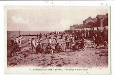 CPA-Carte Postale France-Langrune-sur-Mer- Plage à marée basse  VM6834