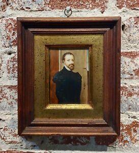 Ida Calzolari - Portrait of a 16th century Spanish Aristocratic Man- Painting