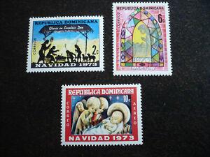 Stamps - Dominican Republic - Scott# 716-717, C212