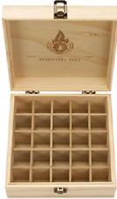 Essential Oil Organizer/Storage Box (Holds 25 Bottles)
