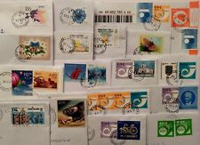 ESTONIA : DIFFERENT  STAMPS ON LETTERS , SENT APRIL-MAY  2021