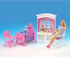 NEW GLORIA DOLLHOUSE FURNITURE New Baby Room PLAYSET (24022)