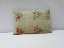 Aubusson French Tapestry Pillow Wool Chair Sofa Bed Couch Bench Cushion 14x20''