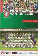 Programme / Programma FC Dordrecht v FC Eindhoven 18-03-2005