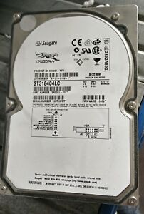 ST318404LC 3BT Seagate 18GB SCSI 3.5 Hard Drive FW 0005 PN 9N9001-099