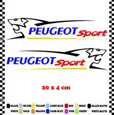 PEGATINA/STICKER/DECAL/AUFKLEBER/VINYL PEUGEOT SPORT