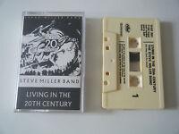 STEVE MILLER BAND LIVING IN THE 20TH CENTURY CASSETTE TAPE CAPITOL EMI UK 1986