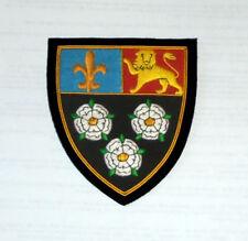 England UK Britain Reunion COA King's College Eton School Regalia Bullion Patch