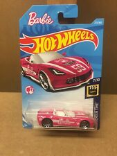 Hot Wheels Barbie Corvette Pink 7/10 HW Screen Time #273/365 Worldwide Shipping