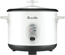 NEW Breville LRC210WHT The Set & Serve 8 Cup Rice Cooker